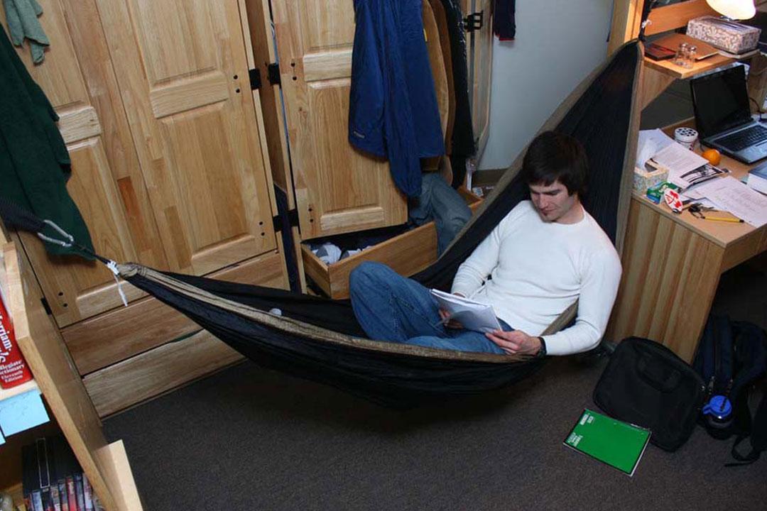 Study In A Hammock